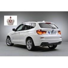 Автостекла на BMW X3  2010-