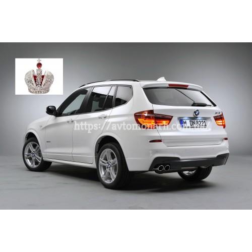 Заднее стекло BMW X3 (426) на BMW X3 (F25) (Внедорожник)