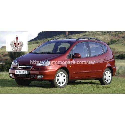 Заднее стекло Chevrolet Tacuma/Rezzo (701) на Chevrolet Tacuma/Rezzo (Минивен)