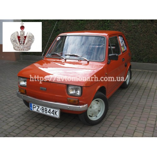 Правое боковое стекло Fiat 126 Bambino  (1238) на Fiat 126 Bambino (Седан)