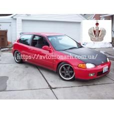 Автостекла на Honda Civic  1992-1996