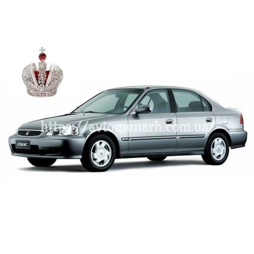 Левое боковое стекло Honda Civic (2055) на Honda Civic (5 дв.) (Комби, Хетчбек)
