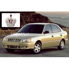 Автостекла на Hyundai Accent  1999-2005