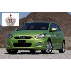 Автостекла на Hyundai Accent/Solaris  2011-