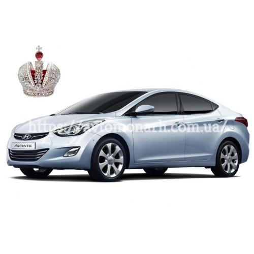 Заднее стекло Hyundai Lantra/Elantra (2415) на Hyundai Lantra/Elantra (Седан)