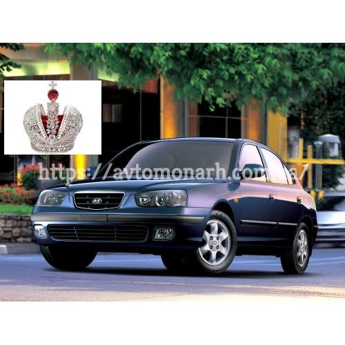 Заднее стекло Hyundai Lantra/Elantra XD (2424) на Hyundai Lantra/Elantra XD (Седан, Хетчбек)