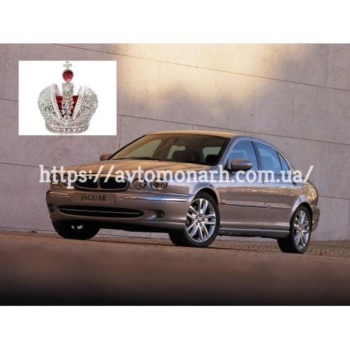 Левое боковое стекло на Jaguar X-Type (Седан)