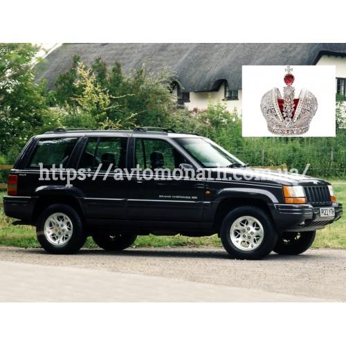 Правое боковое стекло Jeep Grand Cherokee  (2687) на Jeep Grand Cherokee (Внедорожник)