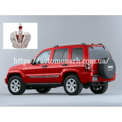 Лобовое стекло Jeep Cherokee/Liberty (2665) на Jeep Cherokee/Liberty (Внедорожник)