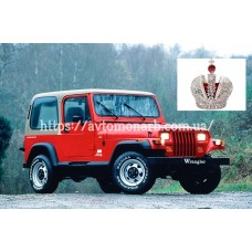 Автостекла на Jeep Wrangler  1987-1997