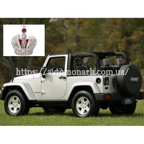 Правое боковое стекло Jeep Wrangler  (2697) на Jeep Wrangler (Внедорожник)