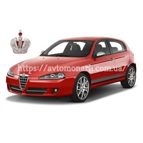 Левое боковое стекло Alfa Romeo 147  (Хетчбек 5-дв.) на Alfa Romeo 147 (Хетчбек)