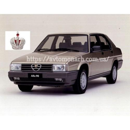 Правое боковое стекло Alfa Romeo 90  (3) на Alfa Romeo 90 (Седан)
