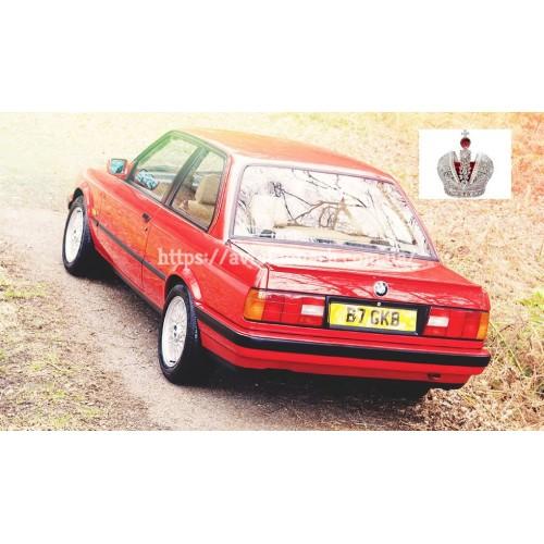 Левое боковое стекло BMW 3 (204) на BMW 3 (E30) (Седан, Комби)