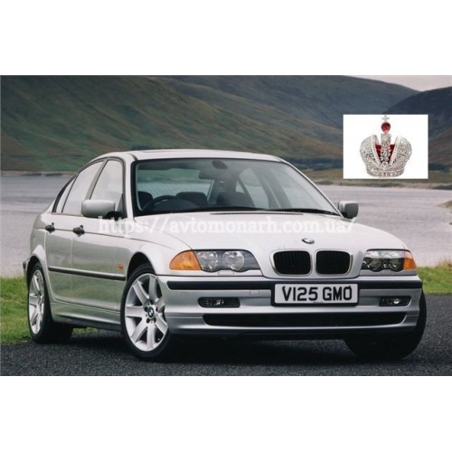 Правое боковое стекло BMW 3 (240) на BMW 3 (E46) (Седан, Комби)