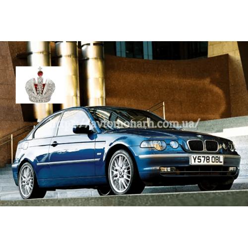 Левое боковое стекло BMW 3 Compact (Хетчбек 3-дв.) на BMW 3 Compact (E46) (Хетчбек)