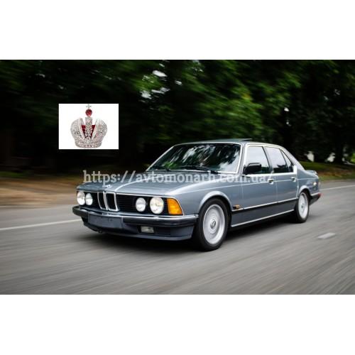 Левое боковое стекло BMW 7 (Седан 4-дв.) на BMW 7 (E23) (Седан)