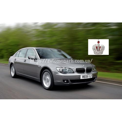 Левое боковое стекло BMW 7 (382) на BMW 7 (E65) (Седан)