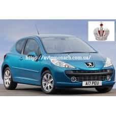 Автостекла на Peugeot 207  2006-2011