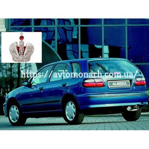 Лобовое стекло Nissan Almera N15/Pulsar  (Хетчбек) на Nissan Almera N15/Pulsar (Седан, Хетчбек)