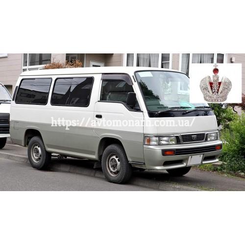 Заднее стекло на Nissan Urvan E24/Caravan (Минивен)