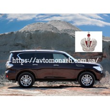 Автостекла на Nissan Patrol GR Y62  2011-