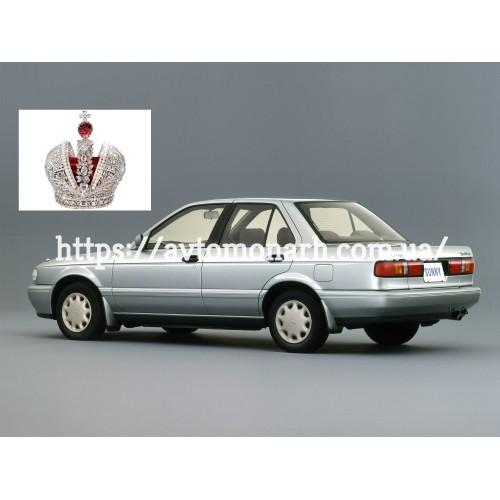 Заднее стекло Nissan Sunny B13/Sentra (5986BBLS-OL) на Nissan Sunny B13/Sentra (Седан)