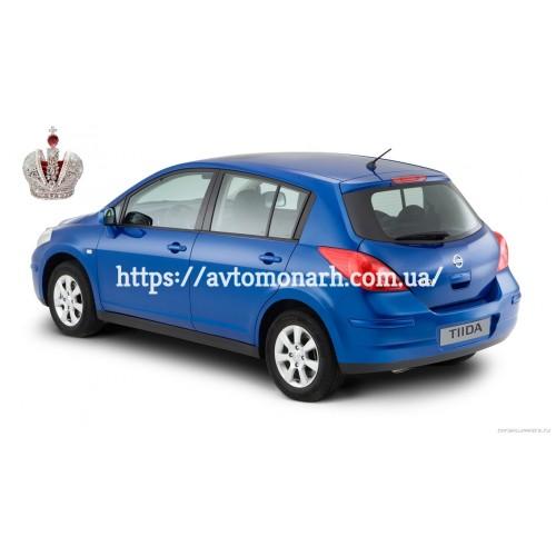 Лобовое стекло Nissan Tiida  (Хетчбек) на Nissan Tiida (Хетчбек, Седан)