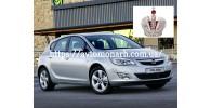 Автостекла на Opel Astra J  2010-