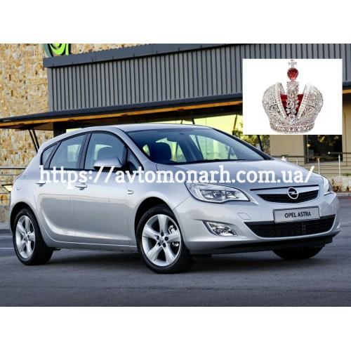 Лобовое стекло Opel Astra J (4349) на Opel Astra J (Седан, Комби, Хетчбек)