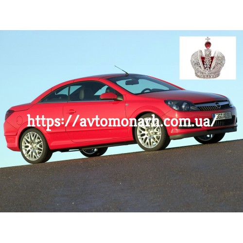 Лобовое стекло Opel Astra Twin-Top (4361) на Opel Astra Twin-Top (Кабриолет)