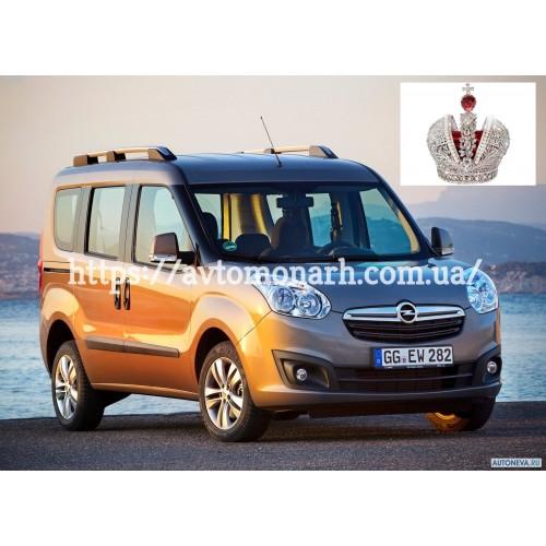Правое боковое стекло на Opel Combo D (Минивен)