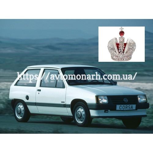 Резинка для Opel Corsa A  (4384) на Opel Corsa A (Хетчбек, Седан)