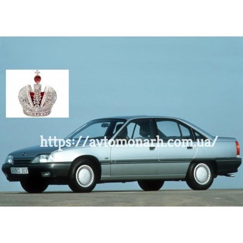 Левое боковое стекло 13 на Opel Omega A (Седан, Комби)