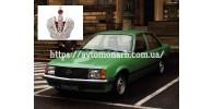 Автостекла на Автостекла Opel Rekord E1 1977-1982