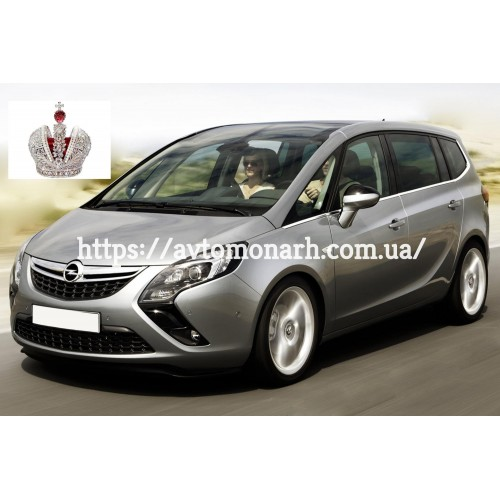 Лобовое стекло Opel Zafira C (4606) на Opel Zafira C (Минивен)