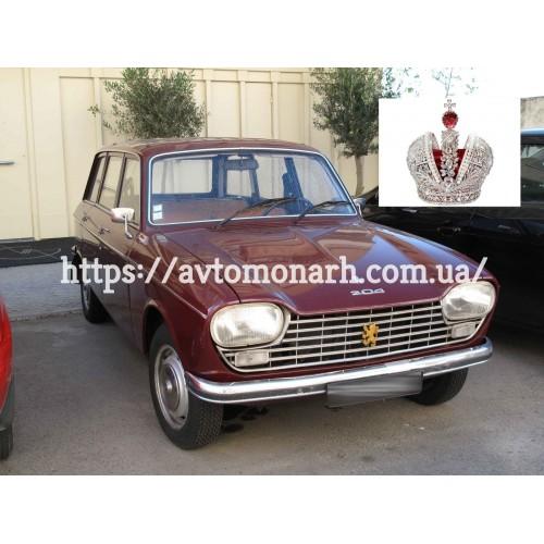 Лобовое стекло Peugeot 204/304  (Хетчбек) на Peugeot 204/304 (Седан, Хетчбек)