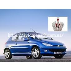 Автостекла на Peugeot 206  1998-2010