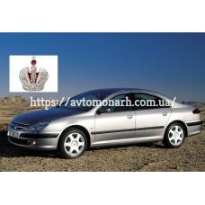 Автостекла на Peugeot 607  2000-2010