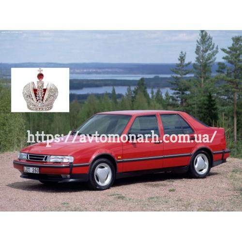 Правое боковое стекло Saab 9000  (Хетчбек 5-дв.) на Saab 9000 (Седан, Хетчбек)