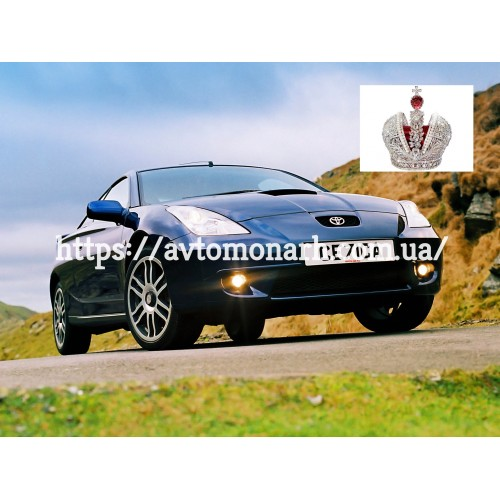 Молдинг для Toyota Celica  (5806) на Toyota Celica (Купе)