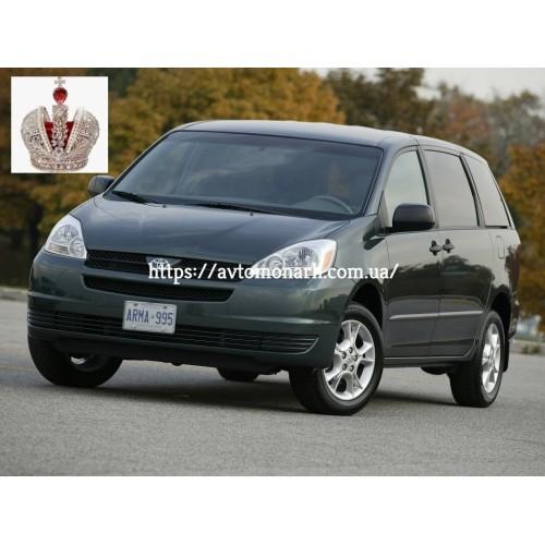 Лобовое стекло Toyota Sienna (6017) на Toyota Sienna (Минивен)