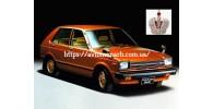 Автостекла на Автостекла Toyota Starlet 1984-1989
