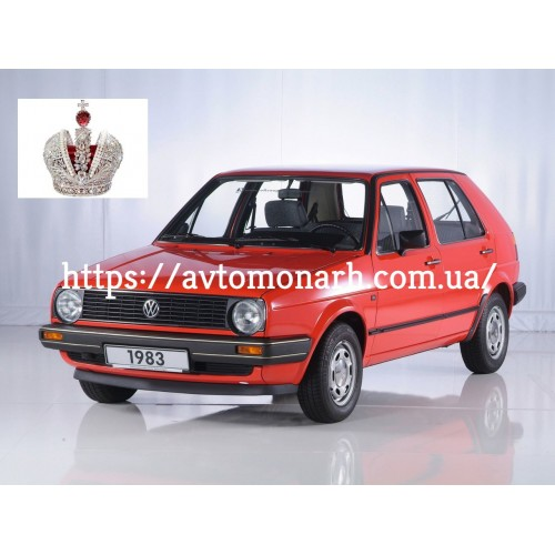 Лобовое стекло VW Golf II (6326) на VW Golf (Хетчбек)