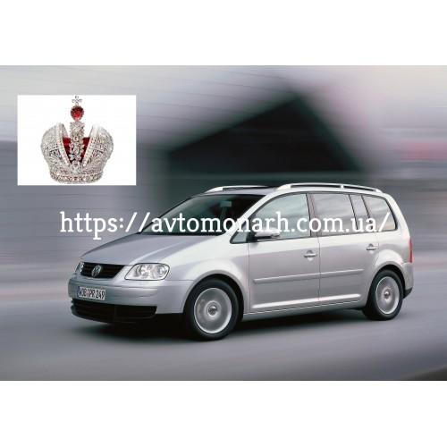 Правое боковое стекло VW Touran  (6605) на VW Touran (Минивен)