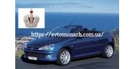 Автостекла на Peugeot 206 СС  2000-2007