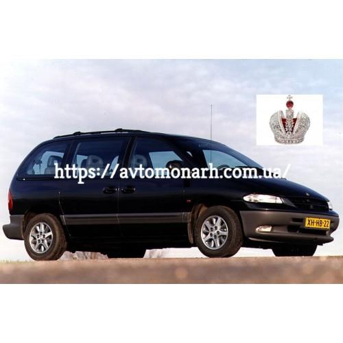Правое боковое стекло Chrysler Voyager/Dodge Grand Caravan  (Минивен все базы) на Chrysler Voyager (Минивен)