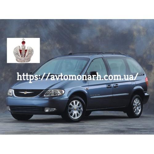 Заднее стекло Chrysler Voyager/Dodge Grand Caravan (730) на Chrysler Voyager (Минивен)