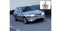 Автостекла на Ford Fiesta/Courier 1996 - 2002