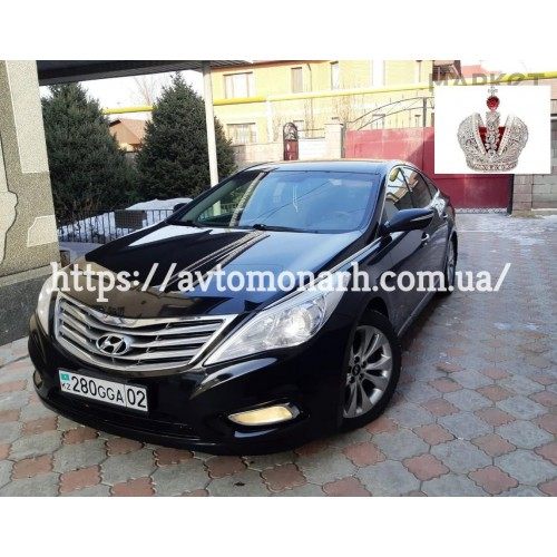 Заднее стекло Hyundai Grandeur (2276) на Hyundai Grandeur (HG)/Azera (Седан)